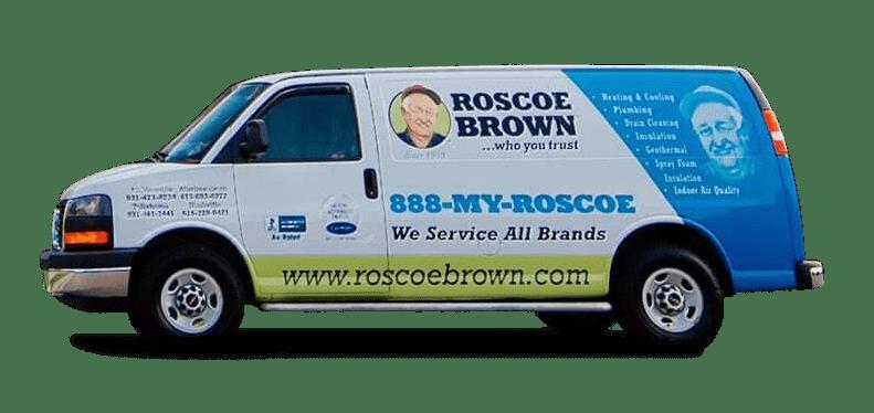 Roscoe Brown Service Truck